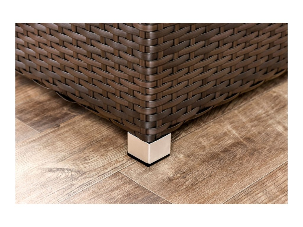 Furniture of America AbionOttoman, Corner Chair