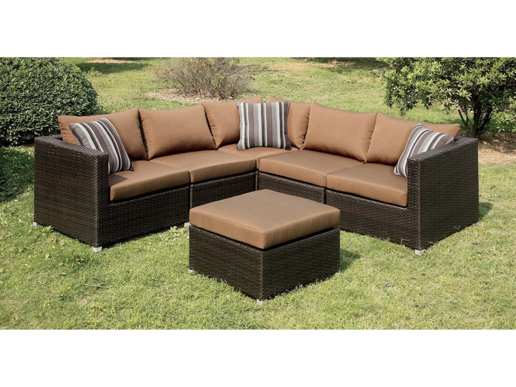 FUSA AbionPatio Sectional