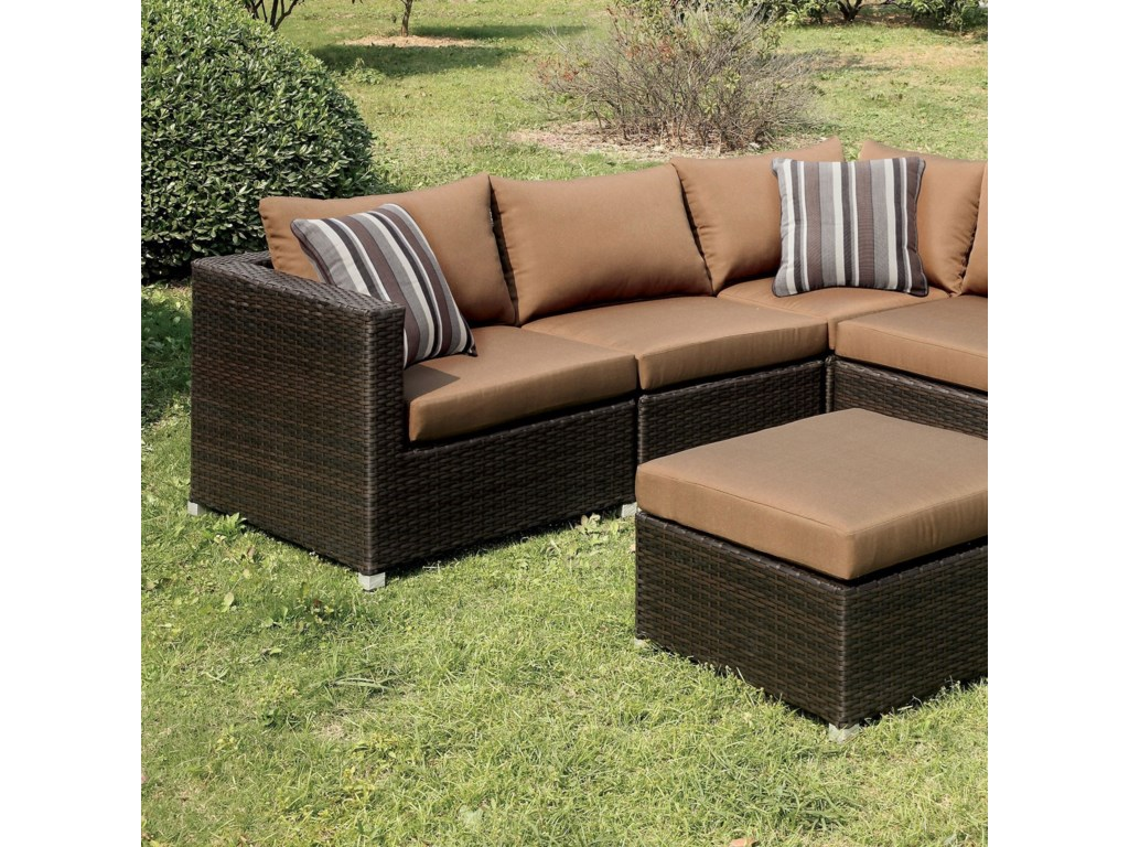 America AbionPatio Sectional
