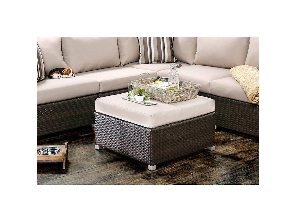 Furniture of America AbionPatio Sectional,