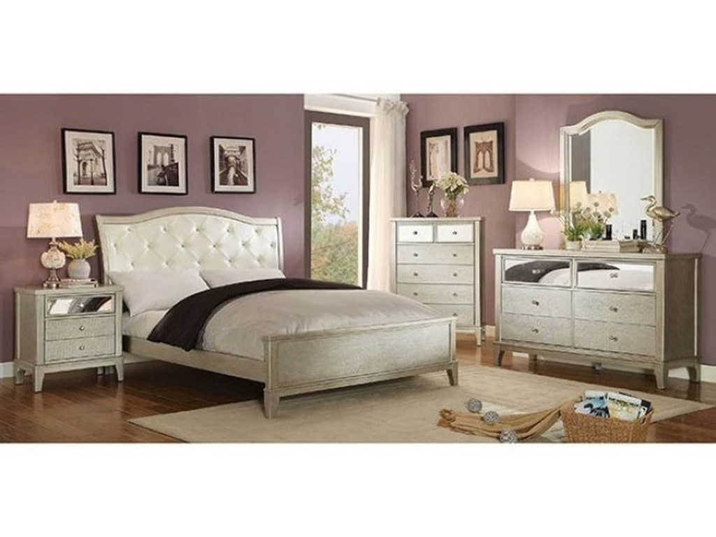 Furniture of America AdelineQueen Bed