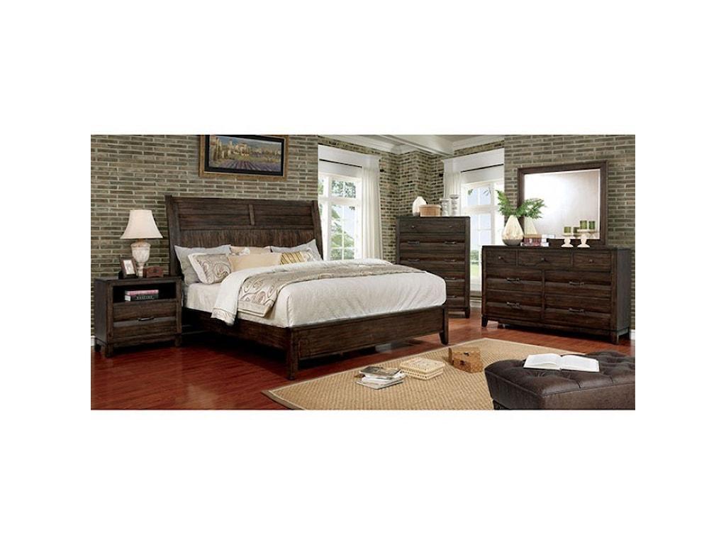 FUSA AgapetosQueen Bed