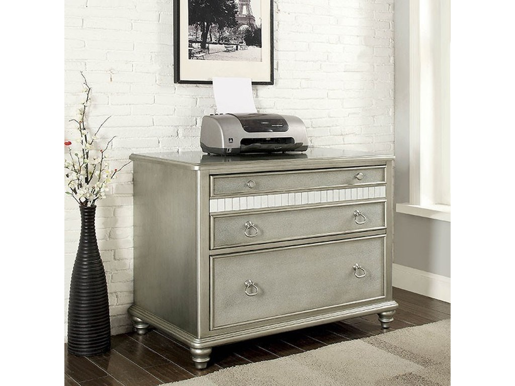 Furniture of America AineFile Cabinet