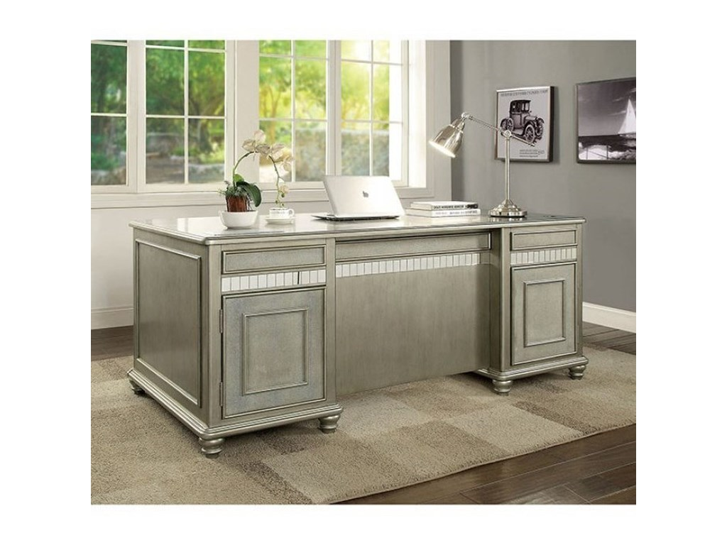 Furniture of America AineWriting Desk