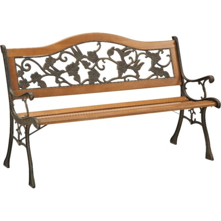 Patio Wooden Bench