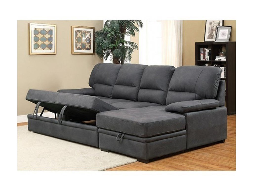 FUSA AlcesterSectional w/ Sleeper