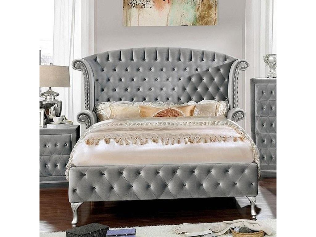 FUSA AlzirKing Bed