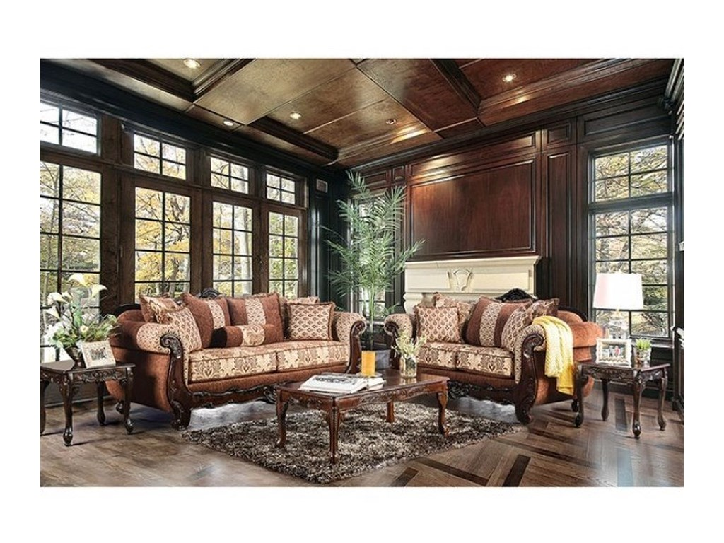 Furniture of America AmadeoLove Seat