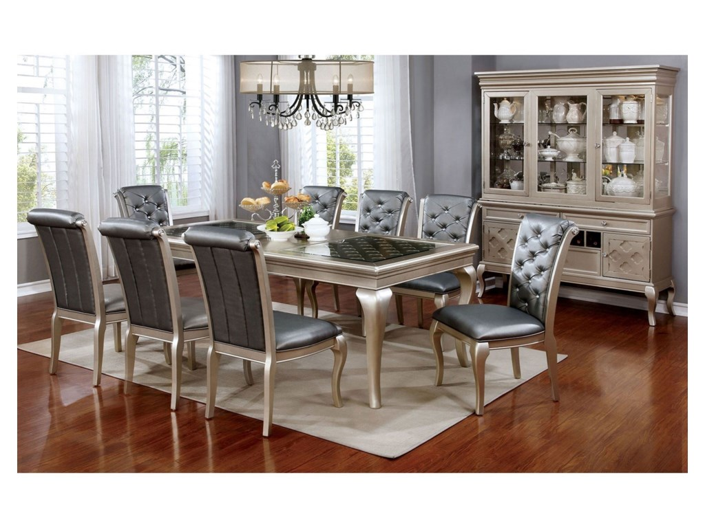 FUSA Amina9 Piece Dining Set