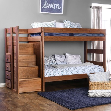 Twin/Twin Bunk Bed
