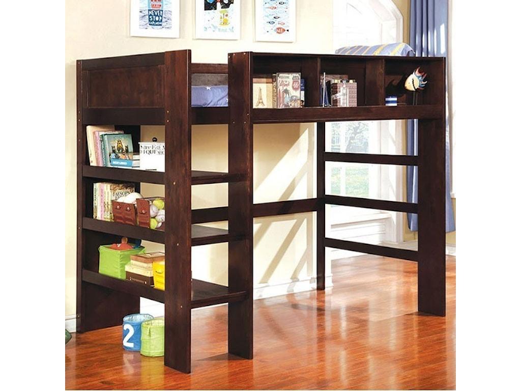 FUSA AnnemarieTwin Loft Bed