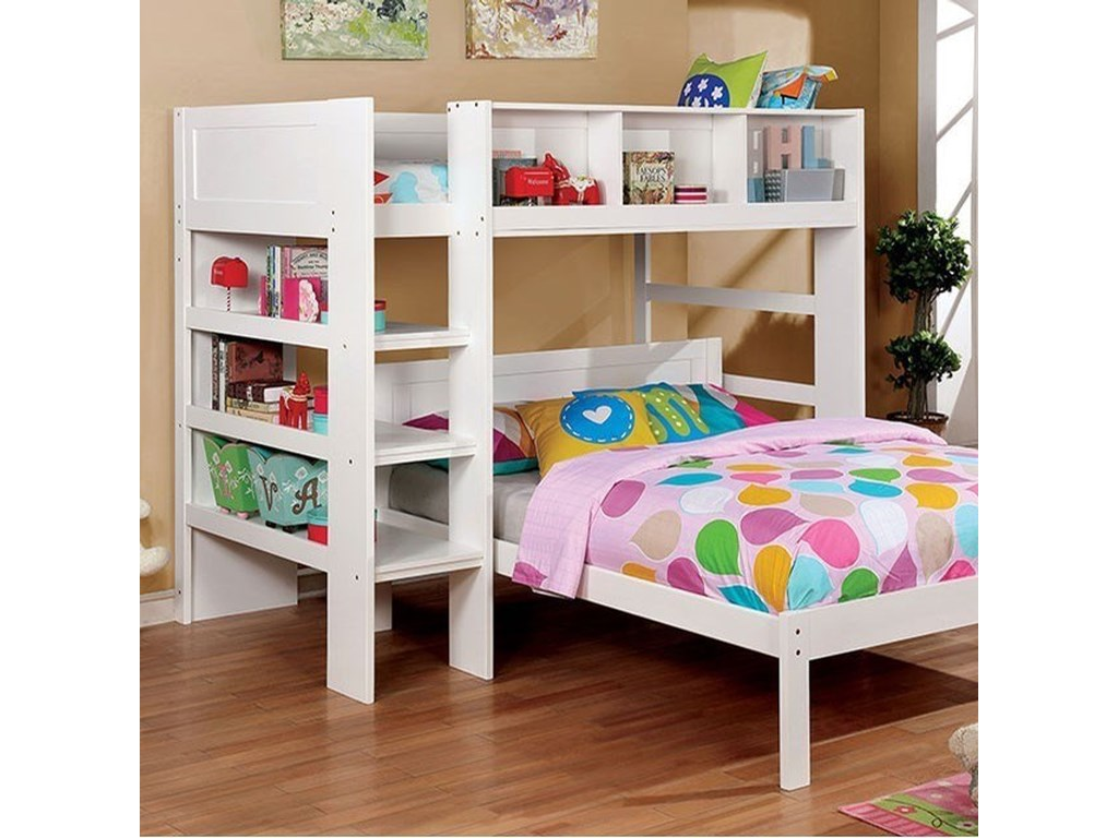 FUSA AnnemarieTwin Bed