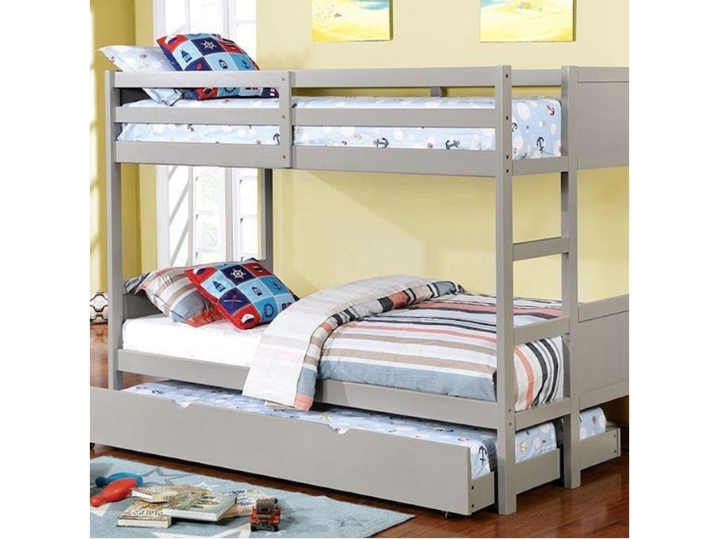 FUSA AnnetteFull over Full Bunk Bed