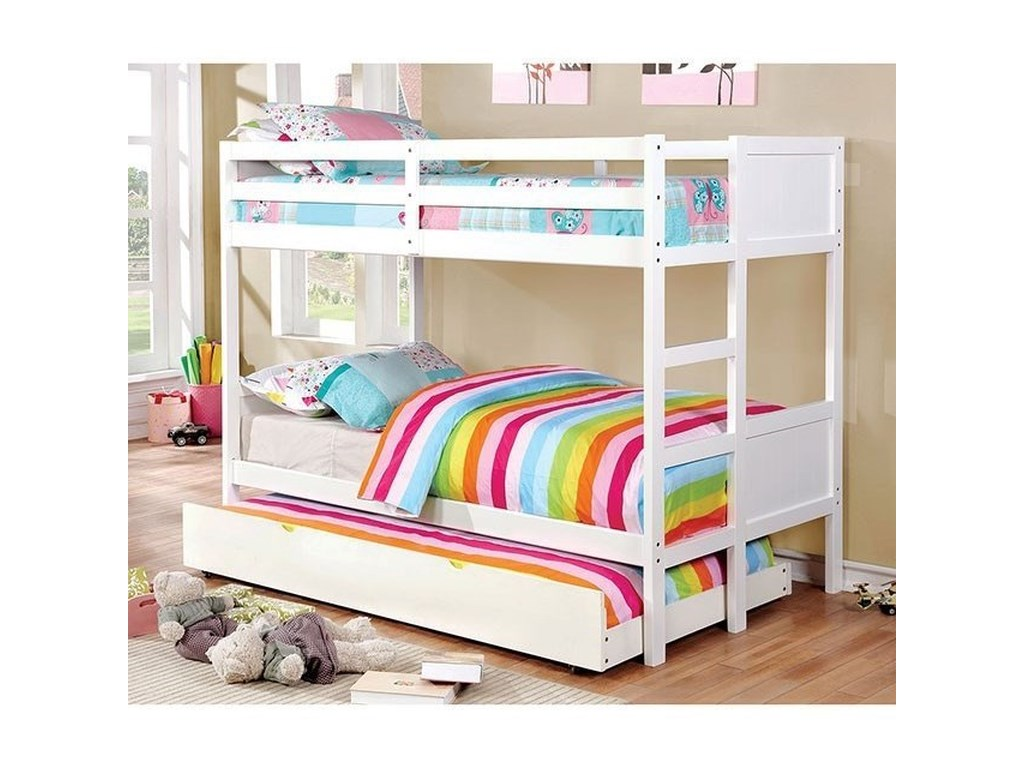 FUSA AnnetteTwin over Twin Bunk Bed