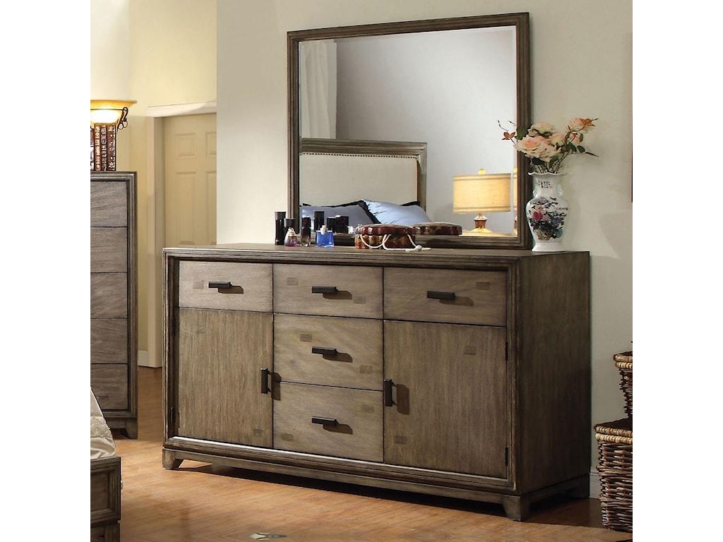 Furniture of America AntlerDresser