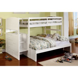 Furniture Of America Foa Appenzell Cm Bk922f Bed Twin Full Bunk Bed Del Sol Furniture Bunk Beds