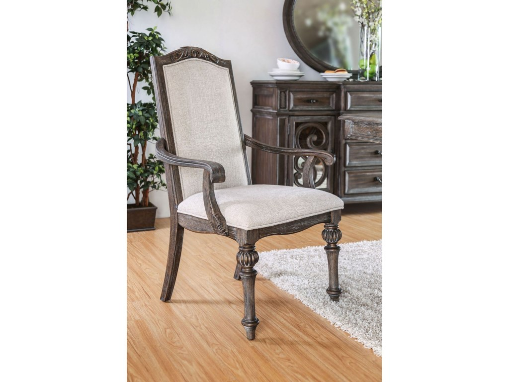 FUSA ArcadiaTable + 2 Arm Chair + 6 Side Chairs
