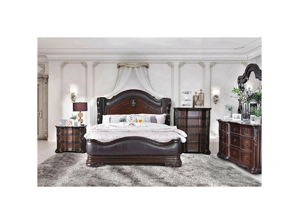 FUSA ArcturusKing Bed