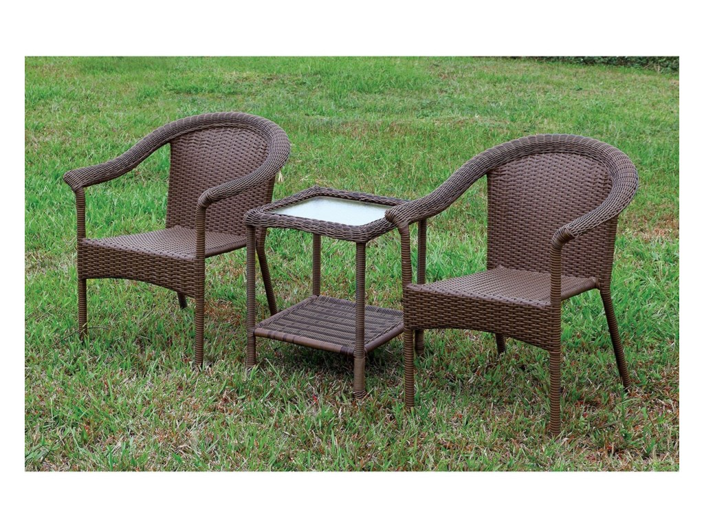 FUSA Arimo3 Pc. Patio Set