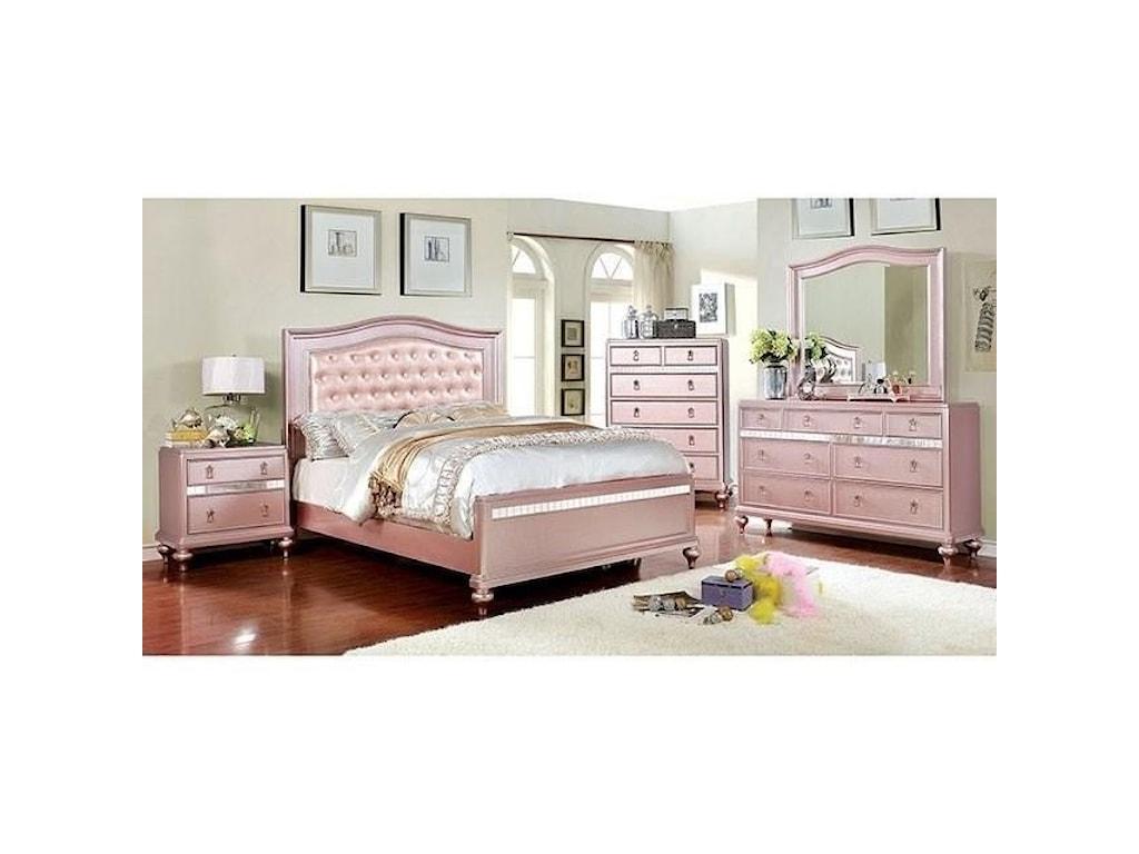 FUSA AristonQueen Bed