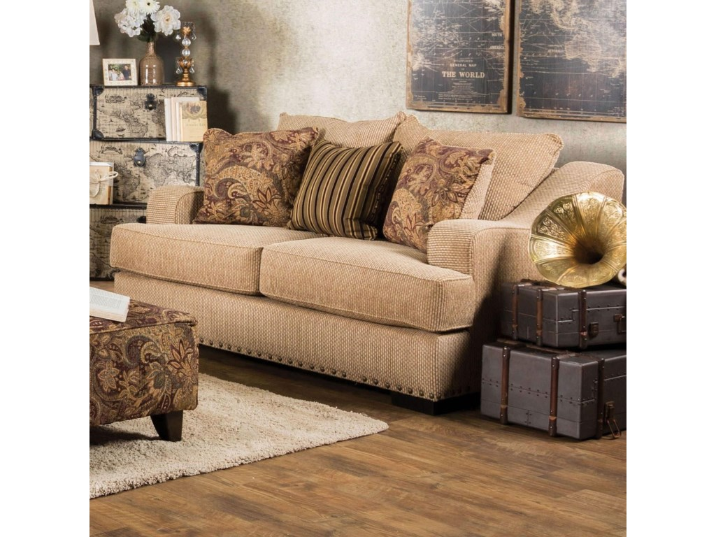 Furniture of America ArklowLove Seat