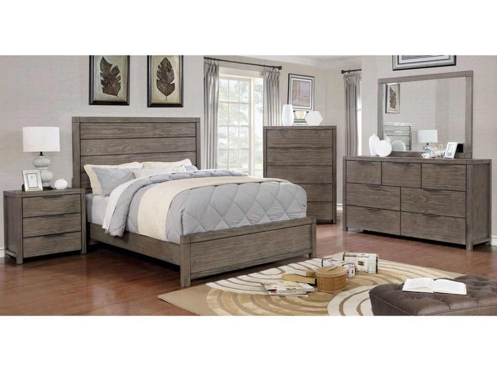 Furniture of America AsteropeFull Bed
