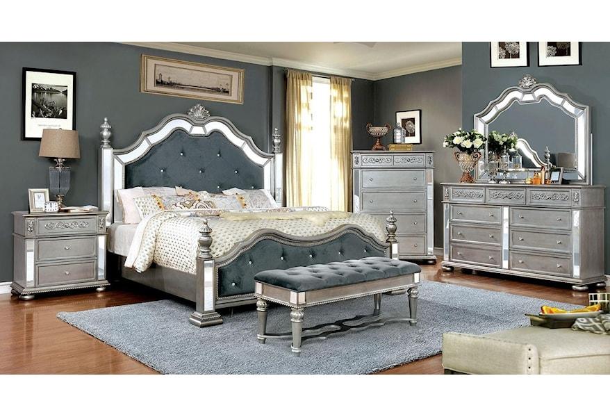 Azha Queen Bedroom Set