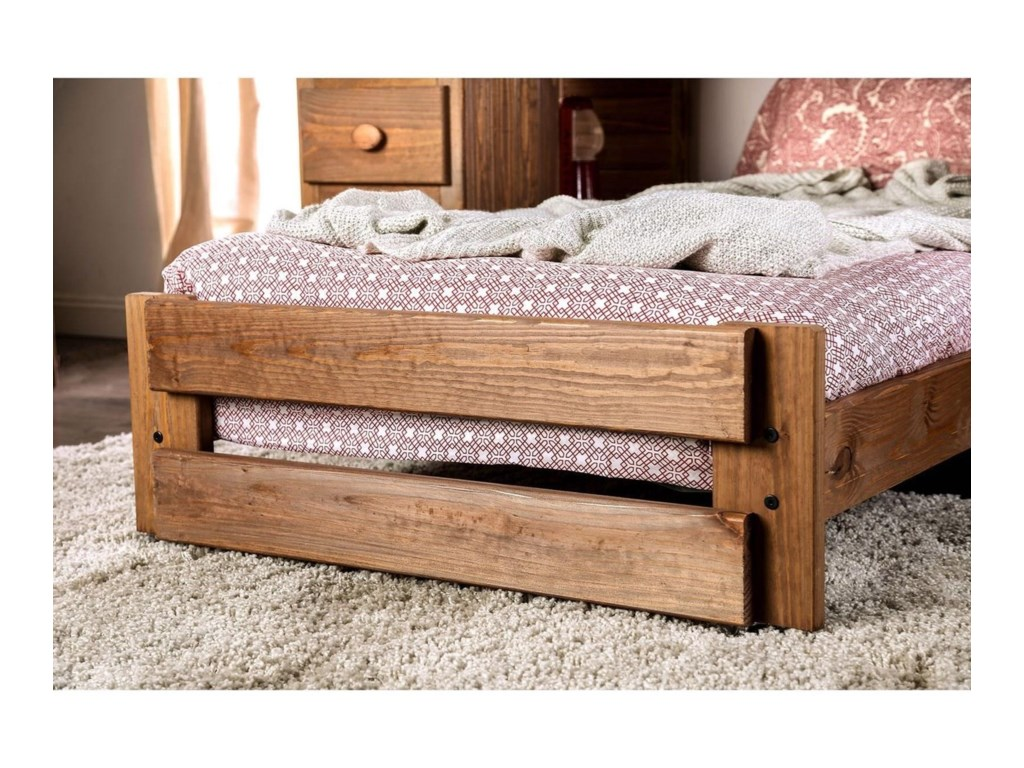 Furniture of America BeckfordTwin/Twin Loft Bed