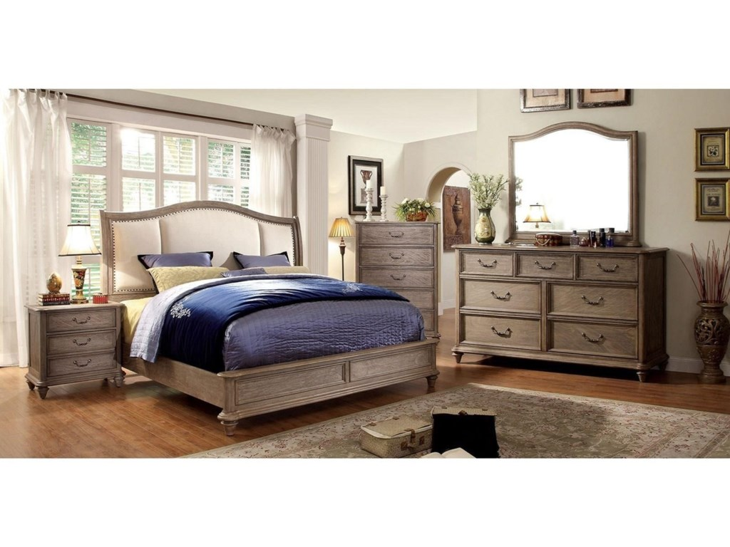 Furniture of America Belgrade IICalifornia King Bed