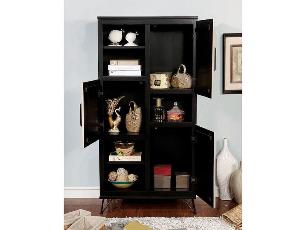 Furniture of America BinchePier Cabinet