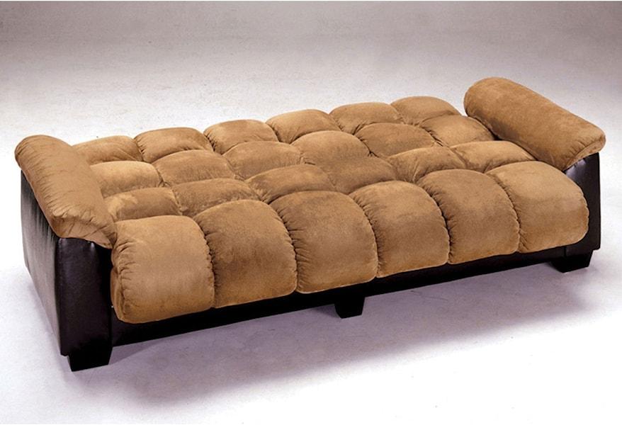Brantford Microfiber Futon Sofa