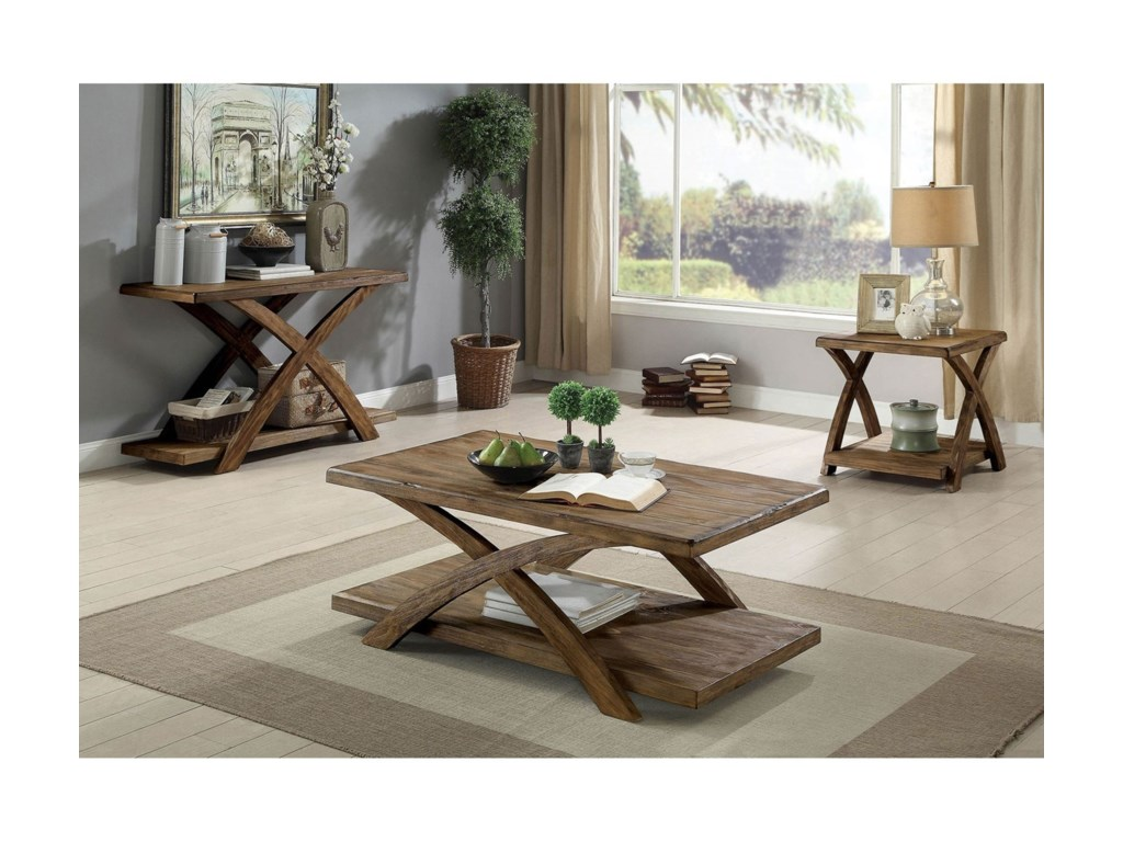 Furniture of America Bryanna3 Pc. Set