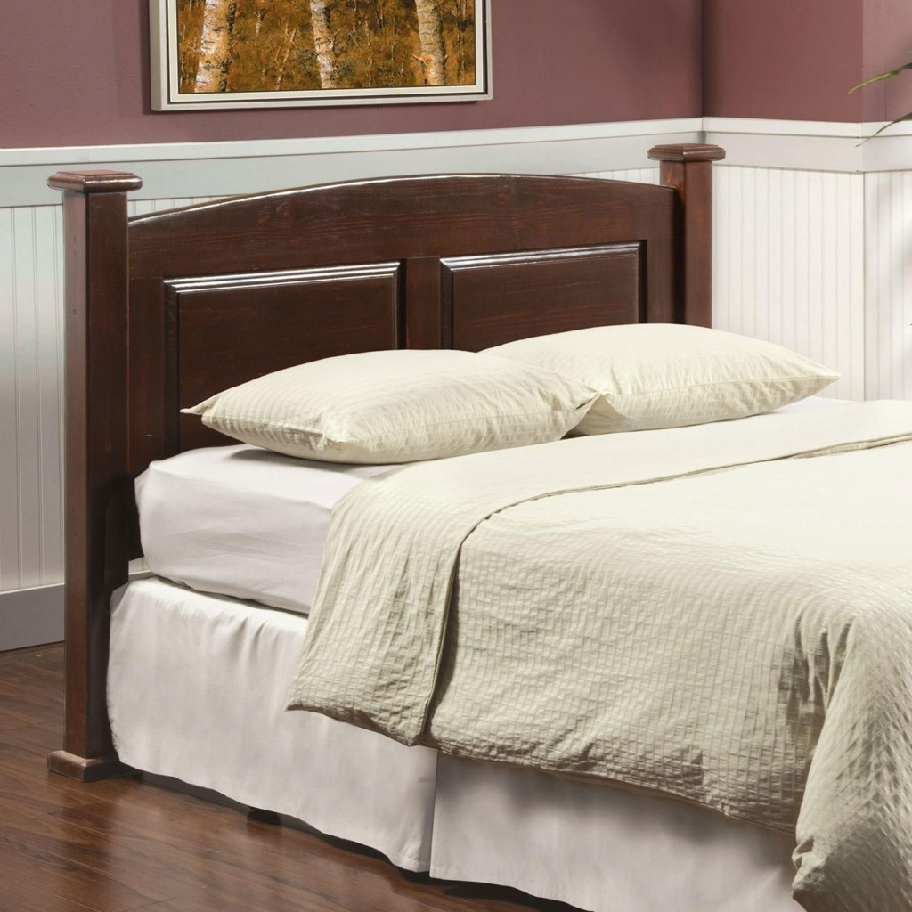 Furniture Of America Buffalo Queen Size Arched Panel Headboard In