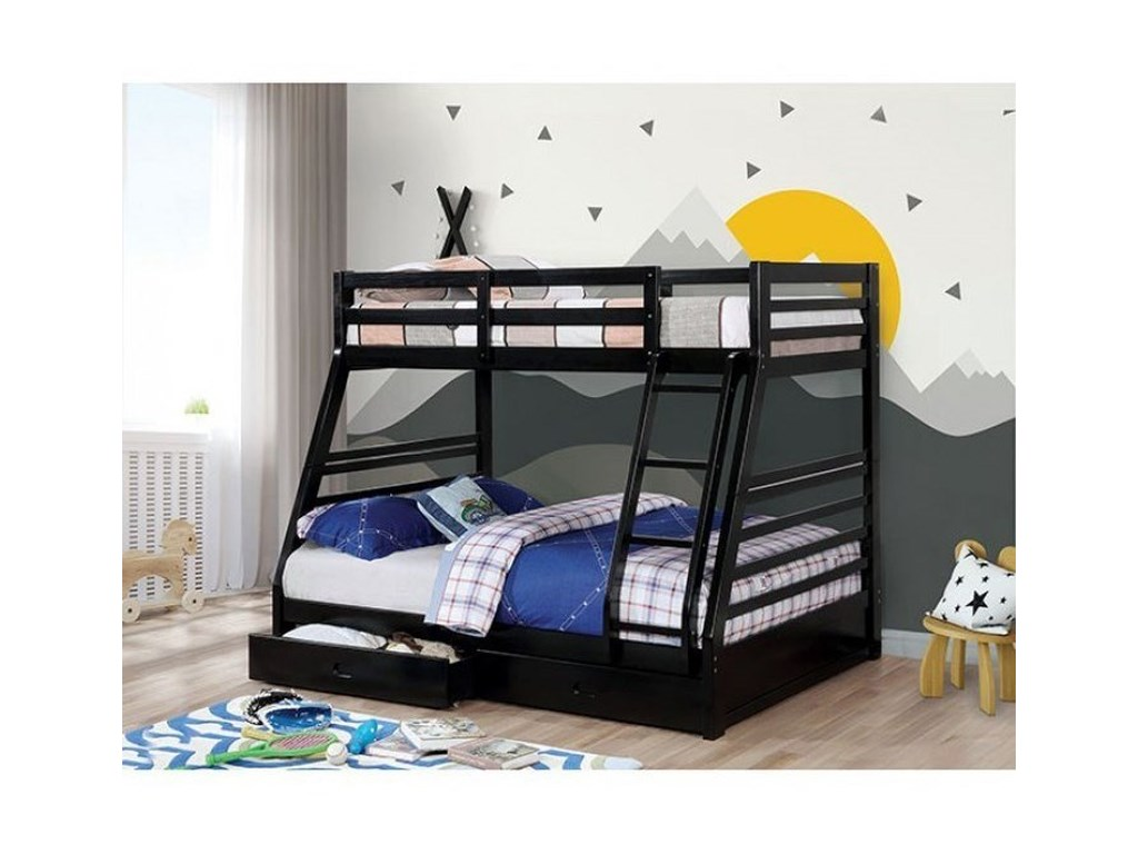 Furniture of America California IVTwin/Full Bunk Bed
