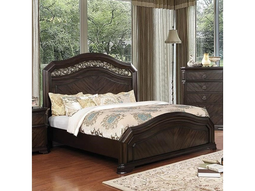Furniture of America CalliopeKing Bed