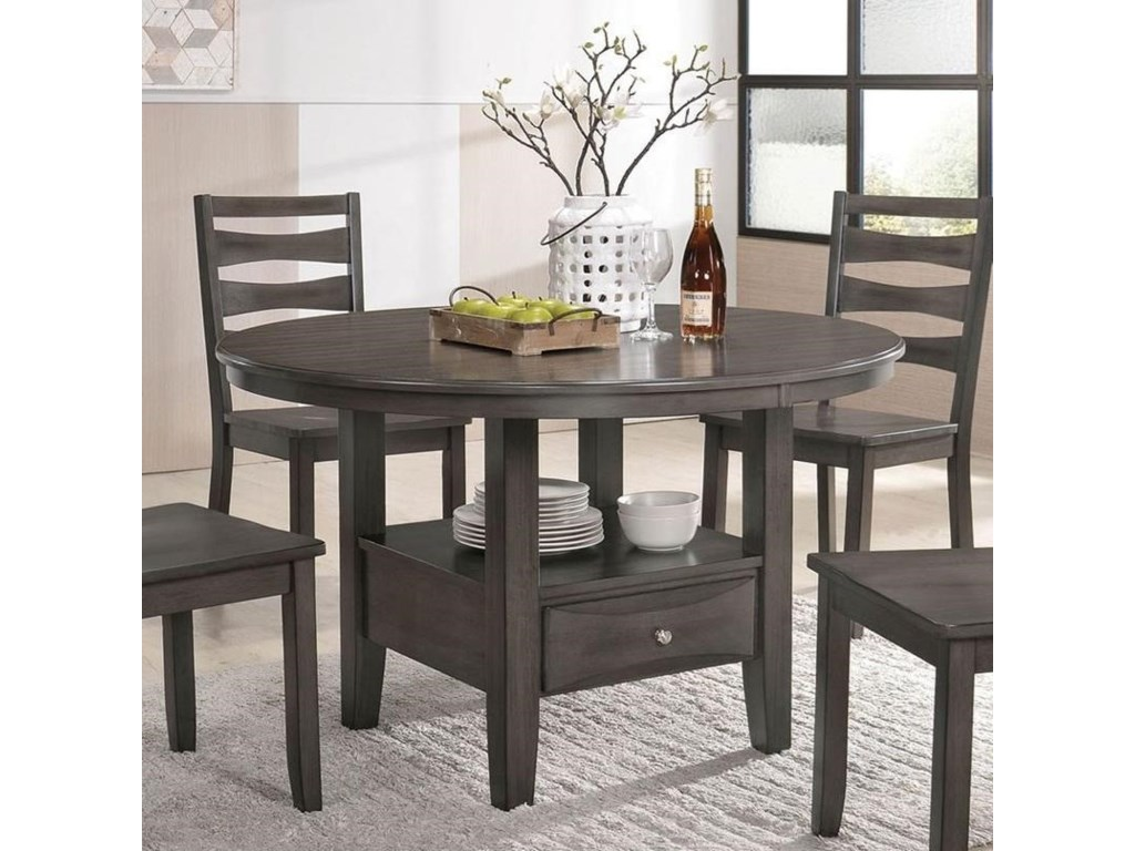 Furniture Of America CapriceRound Dining Table