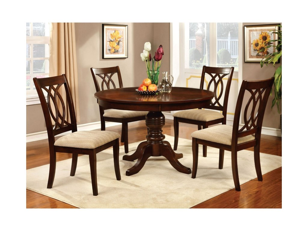 Carlisle1 Transitional Dining Table And