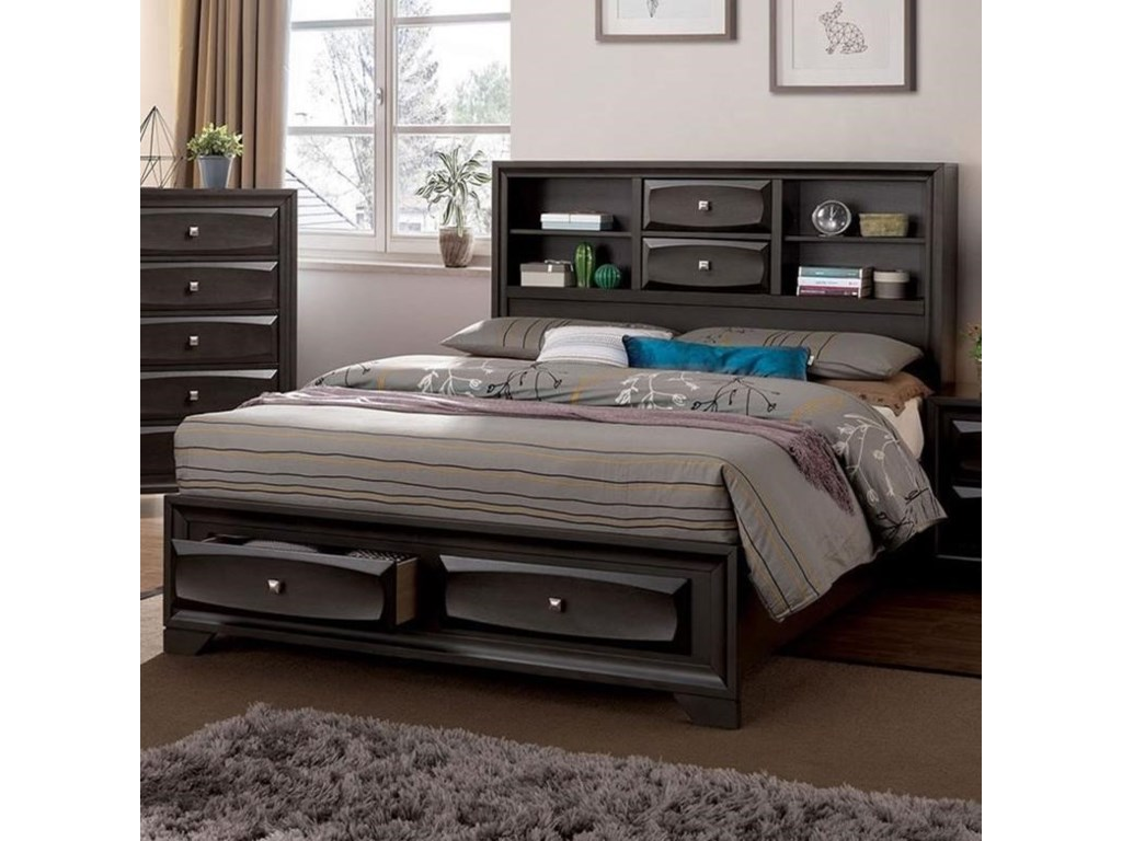 Furniture of America CarlynnQueen Bed