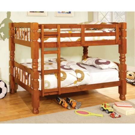 Twin-over-Twin Bunk Bed