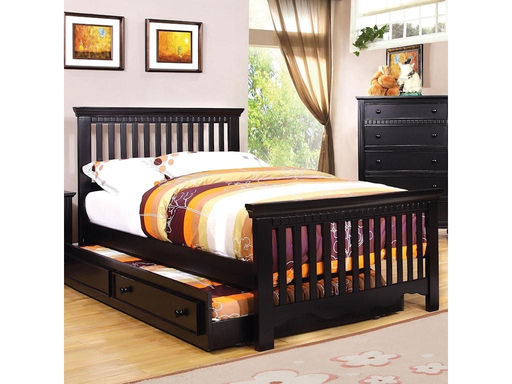 Furniture of America CaspianTwin Bed