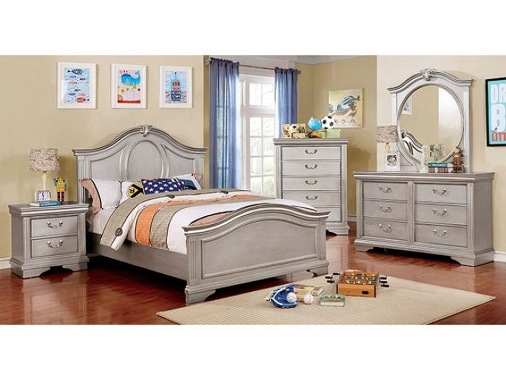 Furniture of America ClaudiaFull Bedroom Group