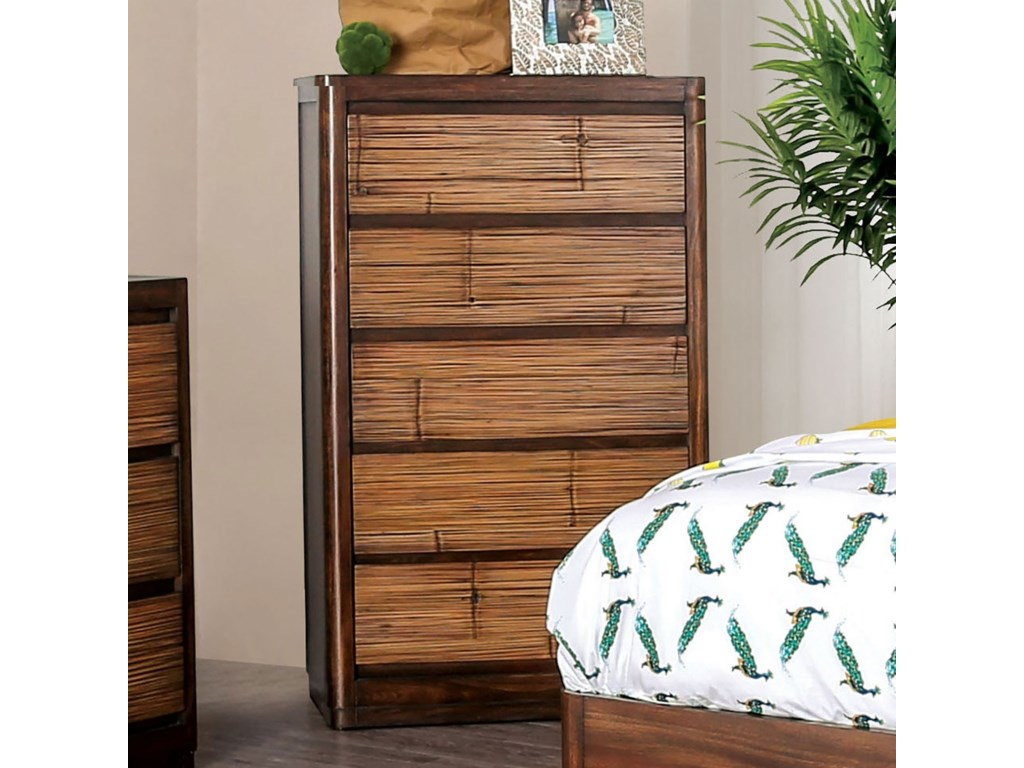 Furniture of America CovilhaChest of Drawers