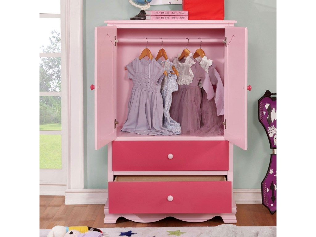 Furniture of America DaniArmoire