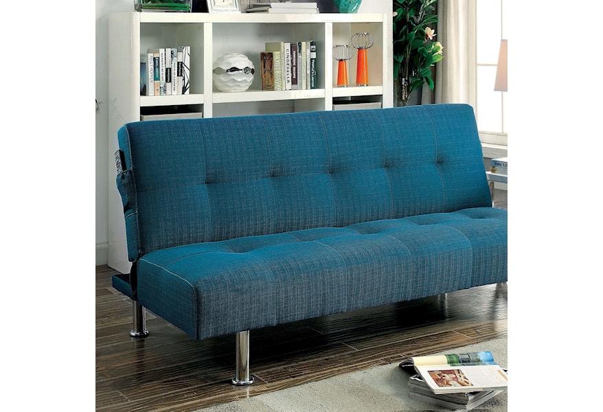 Furniture Of America Dewey Futon Sofa