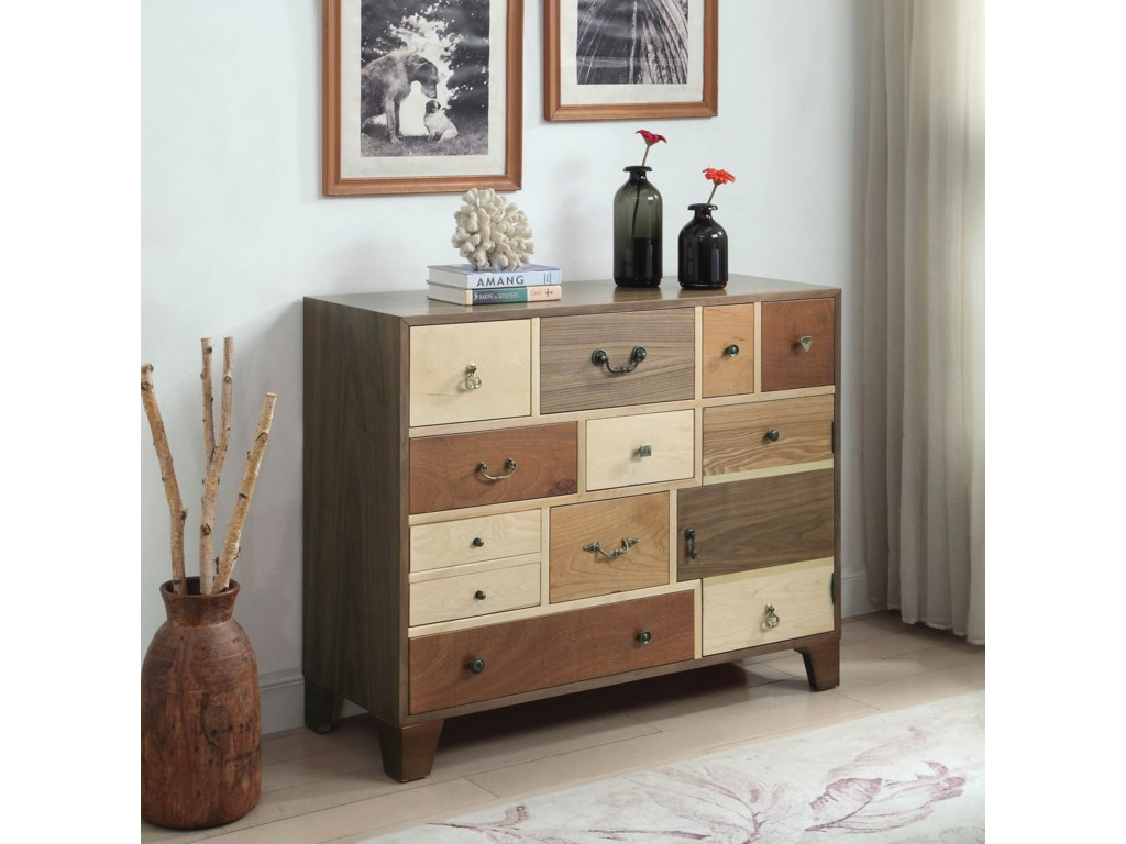 low priced 9ce95 1aa9f Furniture of America Dinah Hallway Cabinet with Multi ...