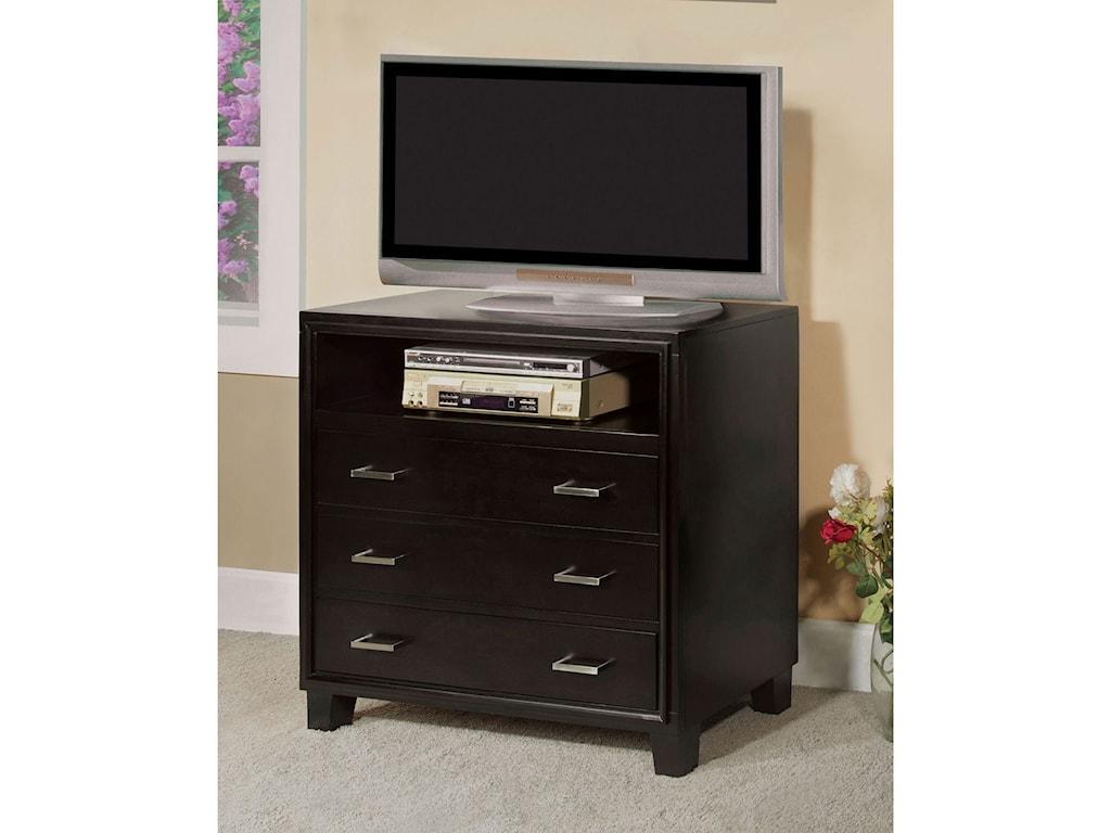 Furniture of America EnricoMedia Chest