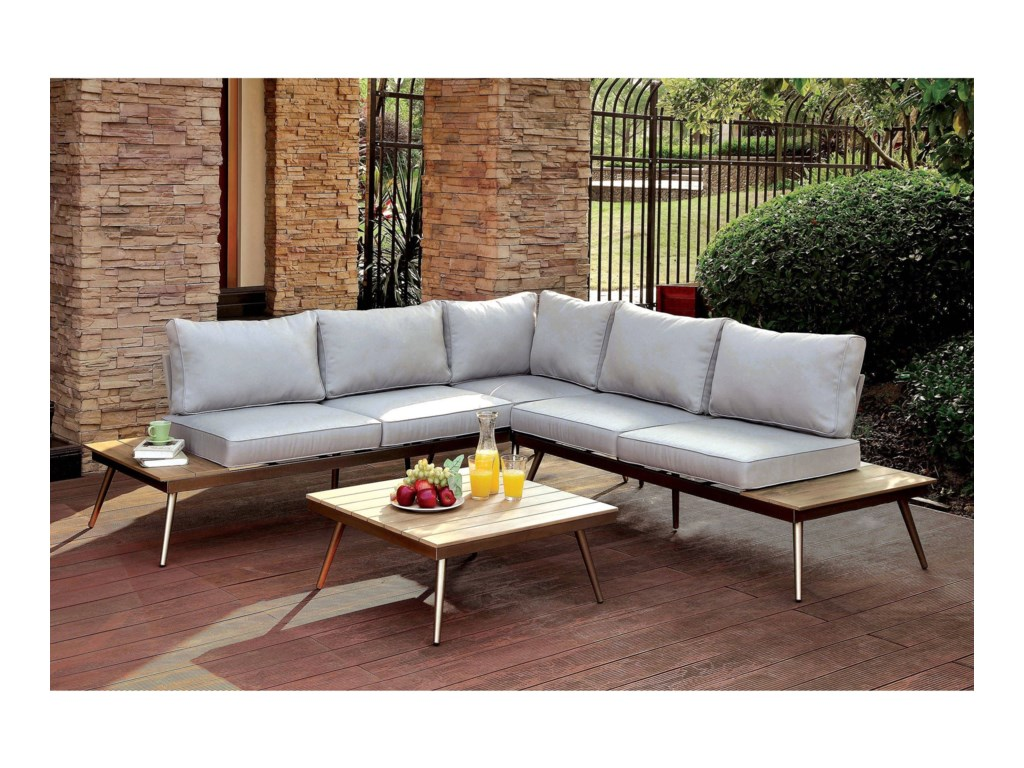 America Evitapatio Sectional W Corner Chair