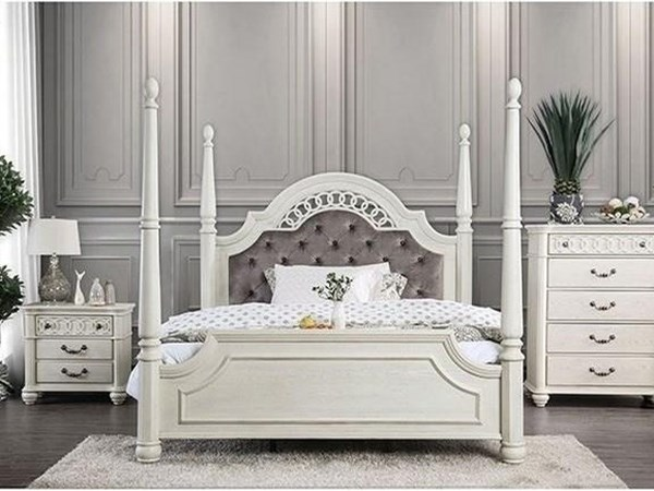 Queen Bed + 1Ns + Dresser + Mirror + Chest