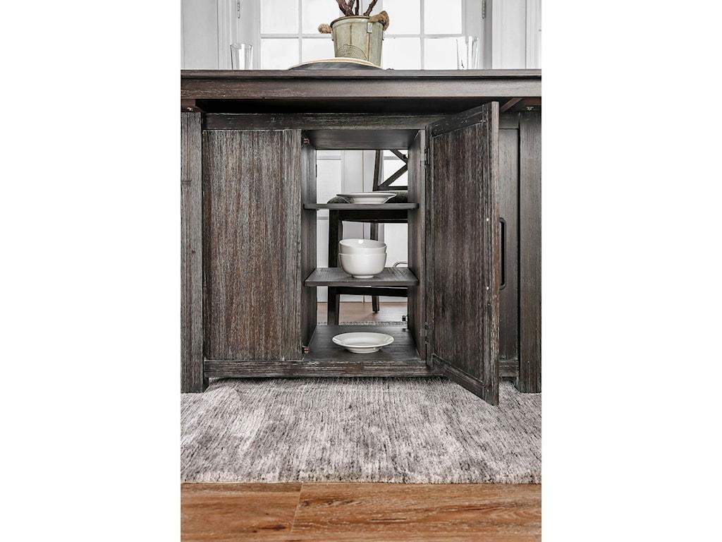 Furniture of America FaulktonCounter Height Table