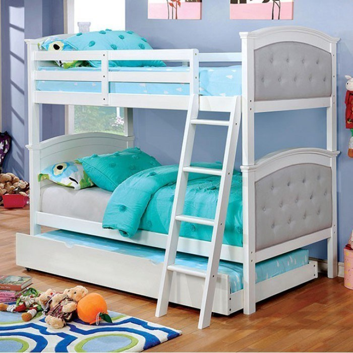 Furniture of America FredaTwin over Twin Bunk Bed